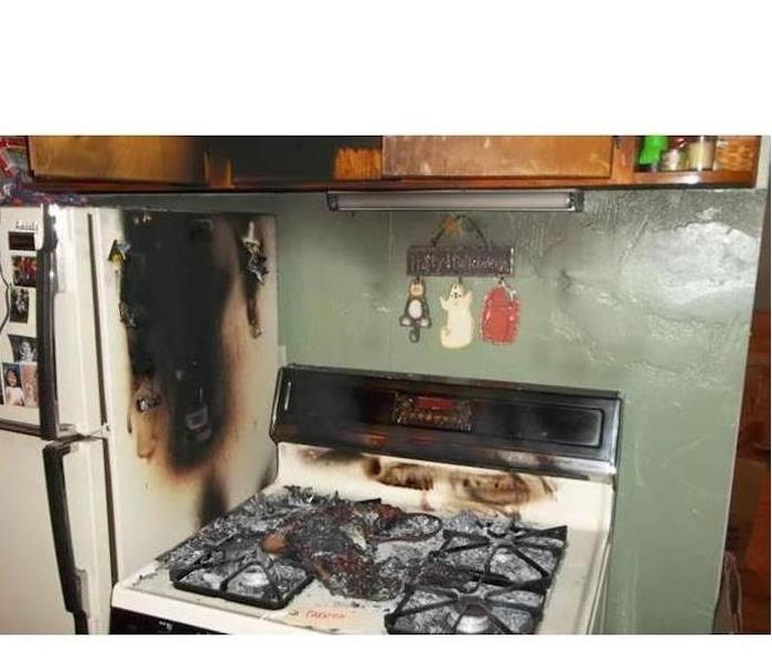 Fire Damage – Chattanooga Kitchen Before
