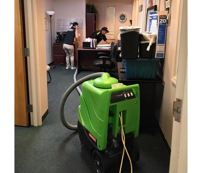 Commercial Cleaning Available With SERVPRO